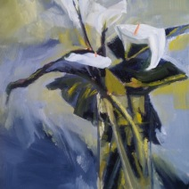 Lilies Oil SOLD