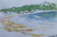 Lucky Bay sketch