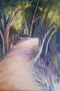 Path at dusk Acrylic