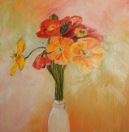 Birthday poppies Oil
