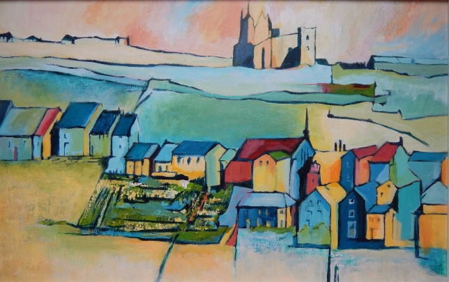 Whitby and the Abbey Acrylic SOLD