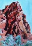 Arkaroola 2 59 x 42 cm Acrylic $350 framed