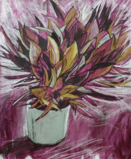 Leucadendron Inktense SOLD