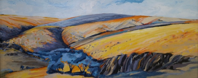 Above Watersport Road Acrylic SOLD