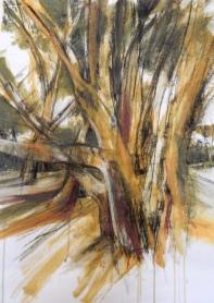 Forest Acrylic 70 x 50 cm $150 unframed