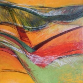 Abstract landscape, Tuscany